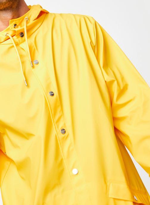 Vêtements Rains  Long Jacket Jaune vue face