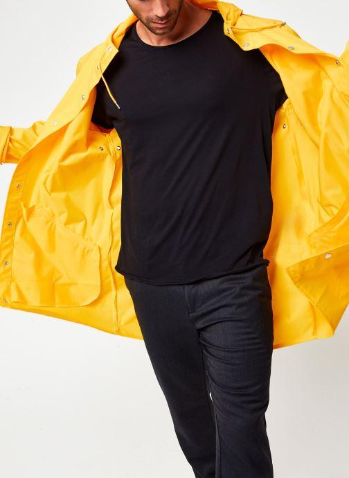 Vêtements Rains  Long Jacket Jaune vue détail/paire