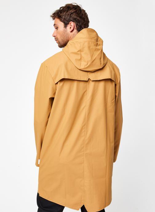 Vêtements Rains  Long Jacket Vert vue portées chaussures