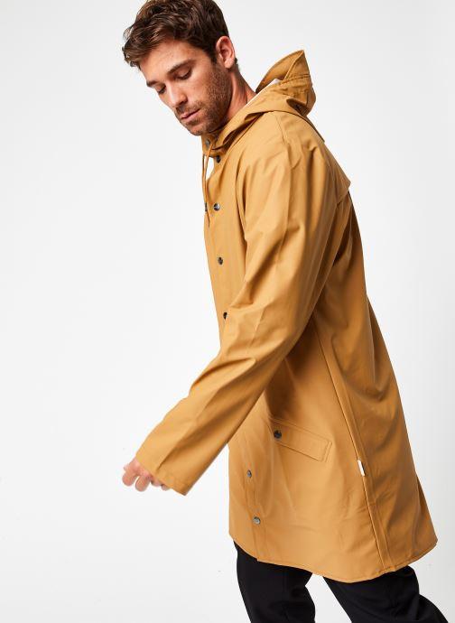 Vêtements Rains  Long Jacket Vert vue droite