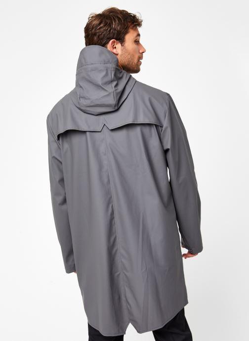 Vêtements Rains  Long Jacket Gris vue portées chaussures