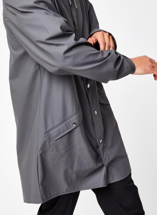 Vêtements Rains  Long Jacket Gris vue face