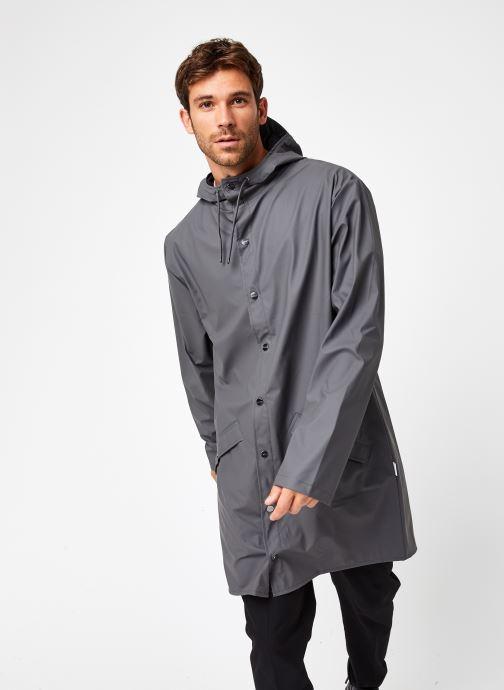 Vêtements Rains  Long Jacket Gris vue droite