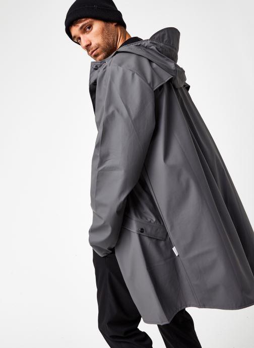 Vêtements Rains  Long Jacket Gris vue détail/paire