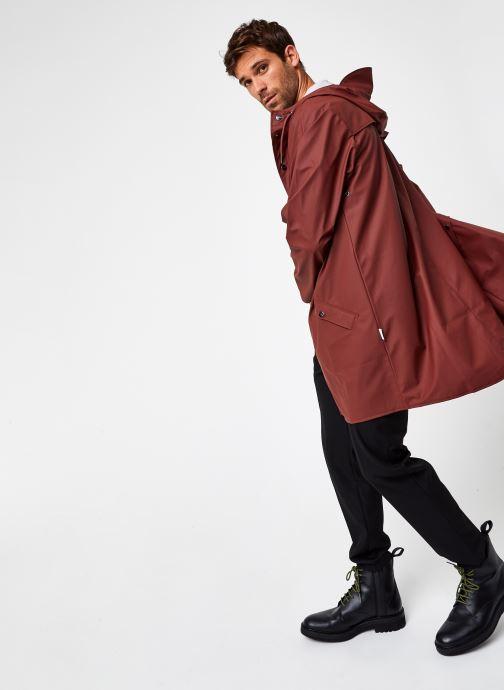 Kleding Rains  Long Jacket Bruin onder