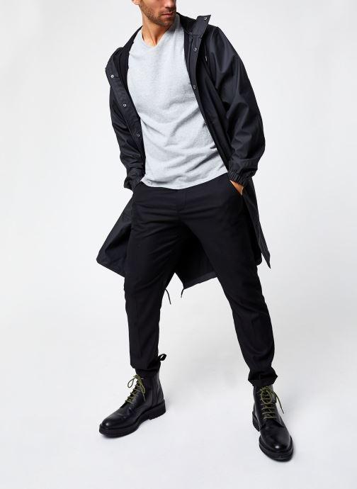 Vêtements Rains  Fishtail Parka Noir vue bas / vue portée sac