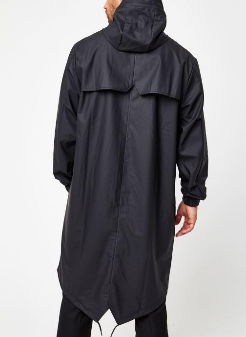 Vêtements Rains  Fishtail Parka Noir vue portées chaussures