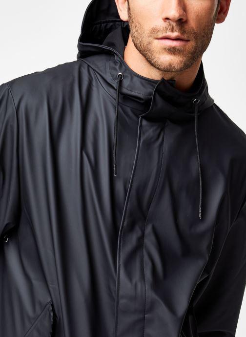 Vêtements Rains  Fishtail Parka Noir vue face