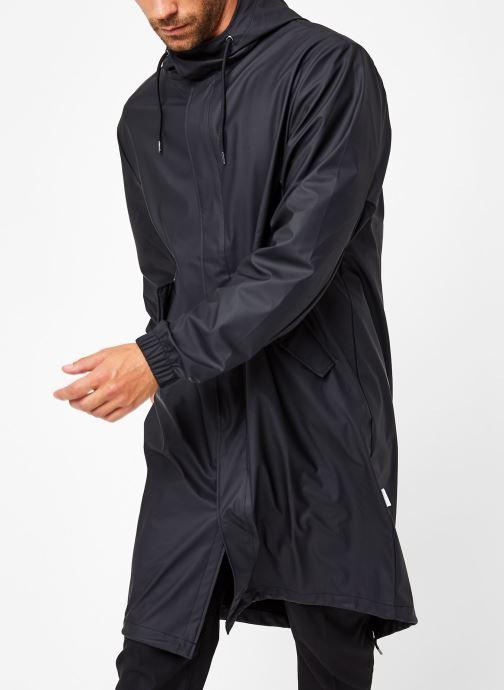 Vêtements Rains  Fishtail Parka Noir vue droite