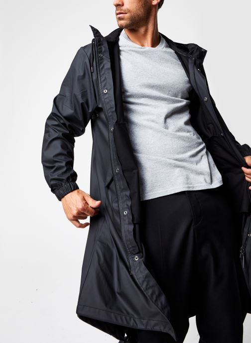 Vêtements Rains  Fishtail Parka Noir vue détail/paire