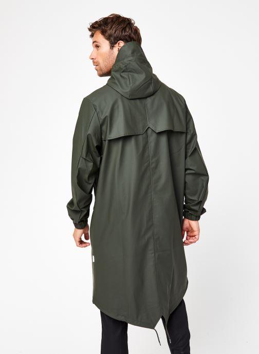 Vêtements Rains  Fishtail Parka Vert vue portées chaussures