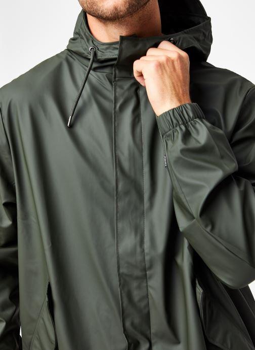 Vêtements Rains  Fishtail Parka Vert vue face