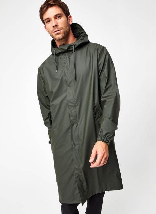 Vêtements Rains  Fishtail Parka Vert vue droite