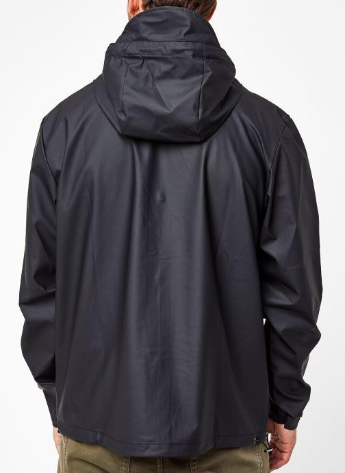 Vêtements Rains  Short Hooded Coat Noir vue portées chaussures