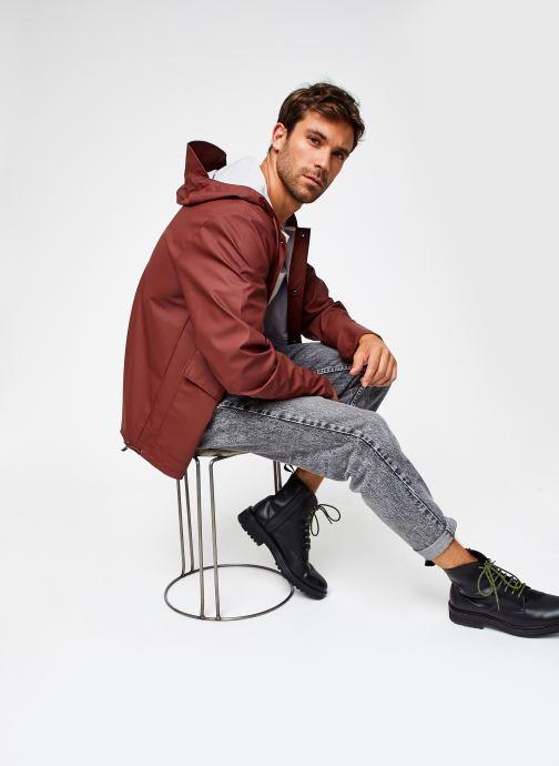 Vêtements Rains  Short Hooded Coat Marron vue bas / vue portée sac