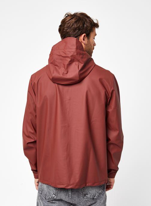 Vêtements Rains  Short Hooded Coat Marron vue portées chaussures