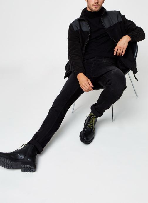 Vêtements Rains  Fleece Zip Puller Noir vue bas / vue portée sac