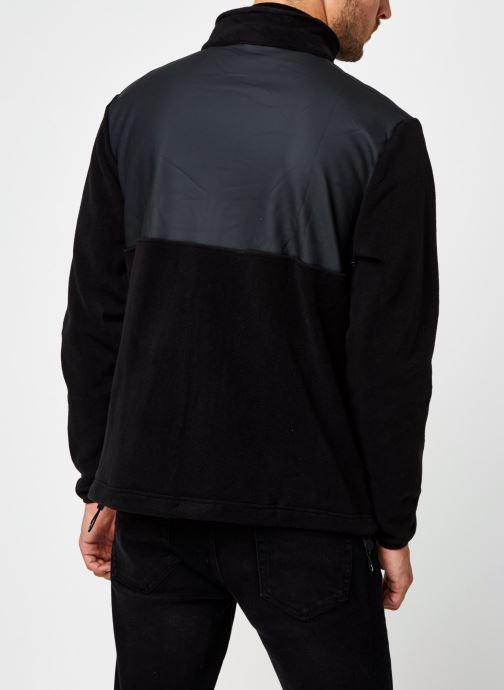 Vêtements Rains  Fleece Zip Puller Noir vue portées chaussures