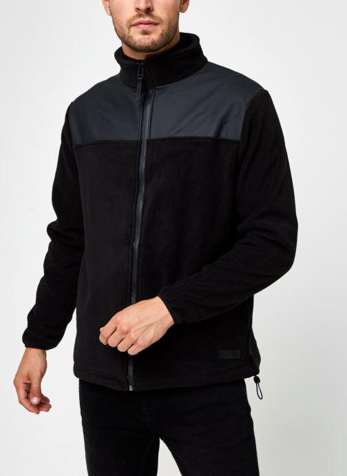 Vêtements Rains  Fleece Zip Puller Noir vue droite