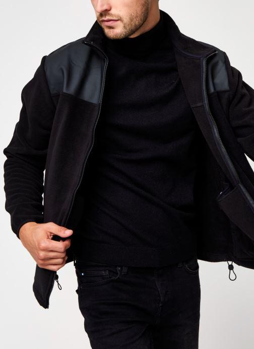 Vêtements Rains  Fleece Zip Puller Noir vue détail/paire