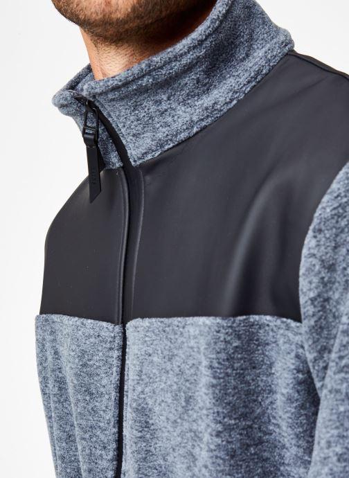 Vêtements Rains  Fleece Zip Puller Gris vue face