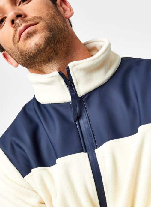 Vêtements Rains  Fleece Zip Puller Blanc vue face