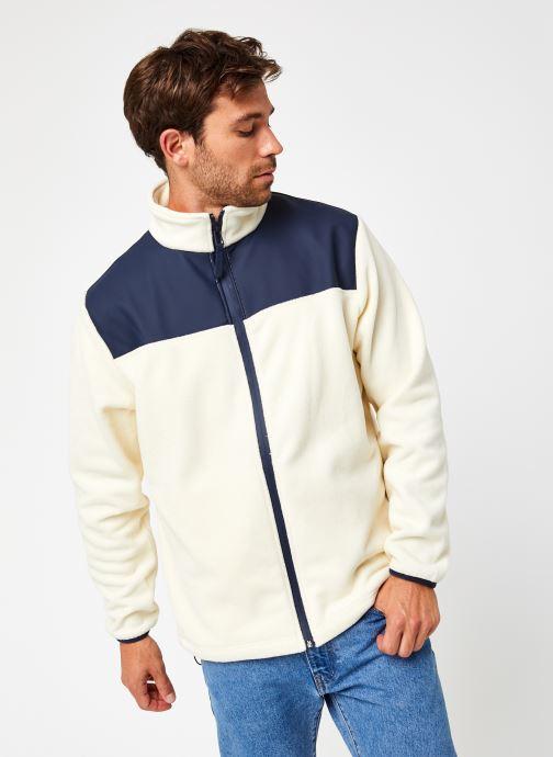 Vêtements Rains  Fleece Zip Puller Blanc vue droite