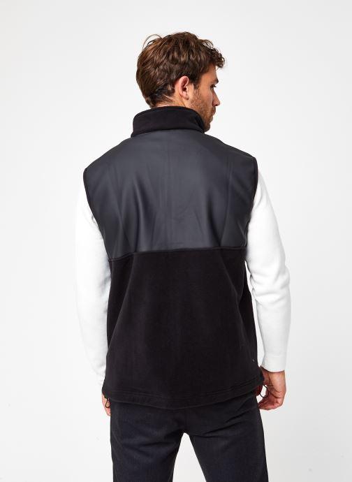 Vêtements Rains  Fleece Vest Noir vue portées chaussures