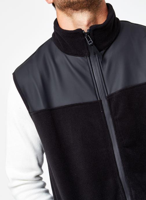 Vêtements Rains  Fleece Vest Noir vue face