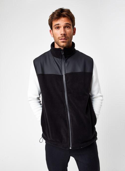 Vêtements Rains  Fleece Vest Noir vue droite