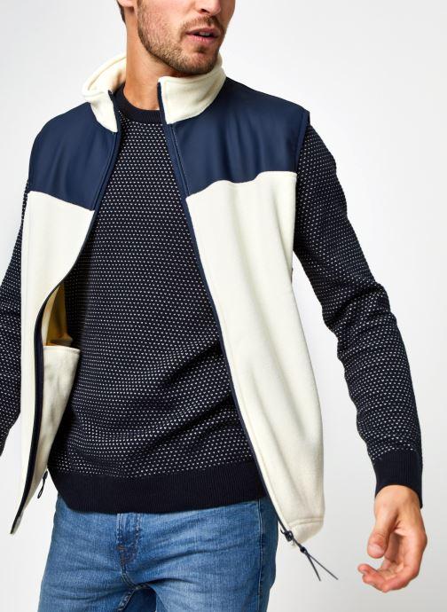 Ropa Rains  Fleece Vest Blanco vista de detalle / par