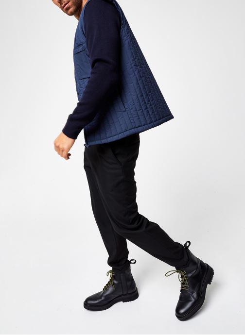Vêtements Rains  Liner Vest Bleu vue bas / vue portée sac