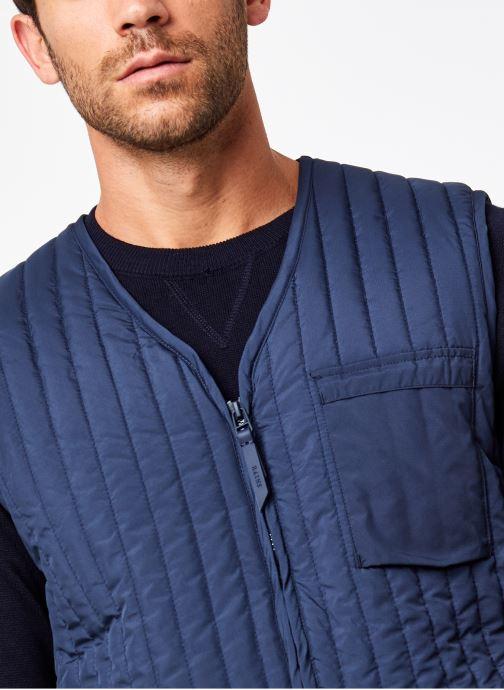 Vêtements Rains  Liner Vest Bleu vue face