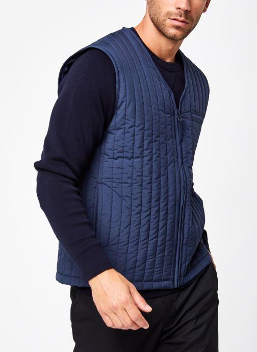Vêtements Rains  Liner Vest Bleu vue droite