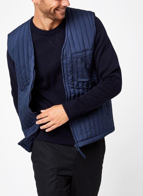 Vêtements Rains  Liner Vest Bleu vue détail/paire