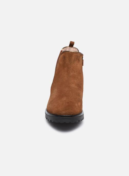 Stivaletti e tronchetti Acebo's 9775SE Marrone modello indossato