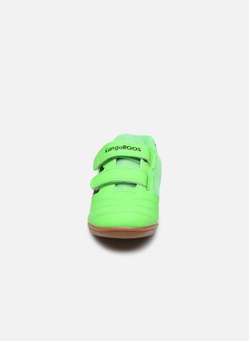Baskets Kangaroos Race Comb V Vert vue portées chaussures