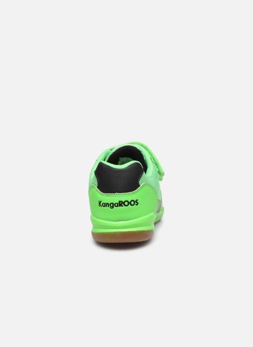 Baskets Kangaroos Race Comb V Vert vue droite