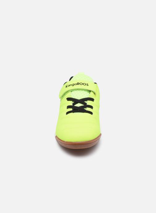Sneaker Kangaroos Speed Comb EV gelb schuhe getragen