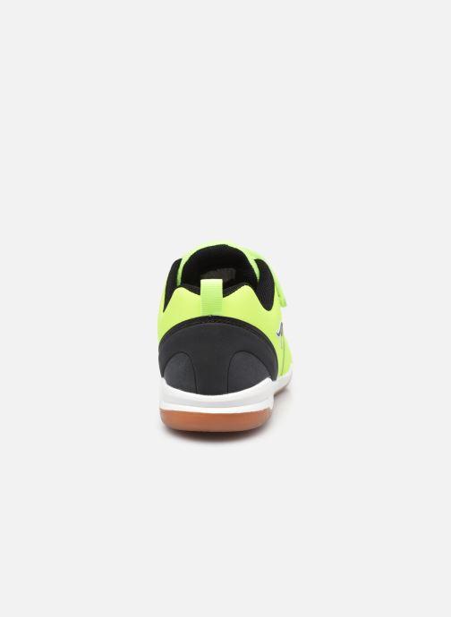 Sneaker Kangaroos Speed Comb EV gelb ansicht von rechts