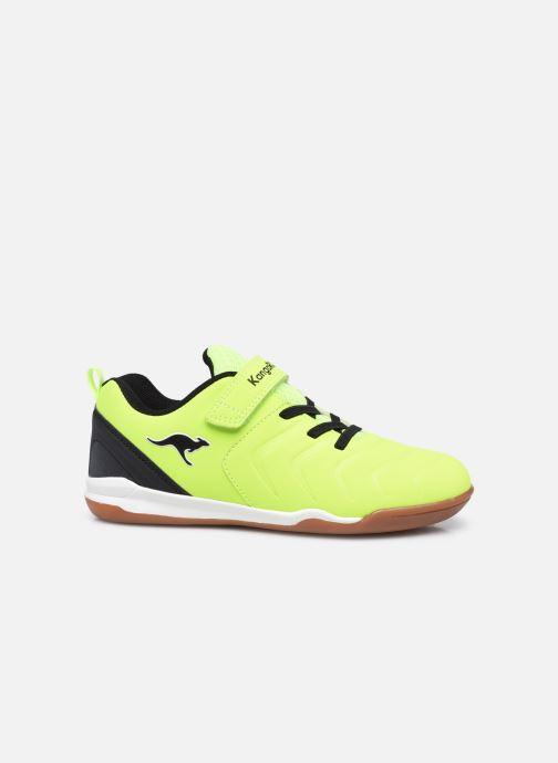 Sneaker Kangaroos Speed Comb EV gelb ansicht von hinten