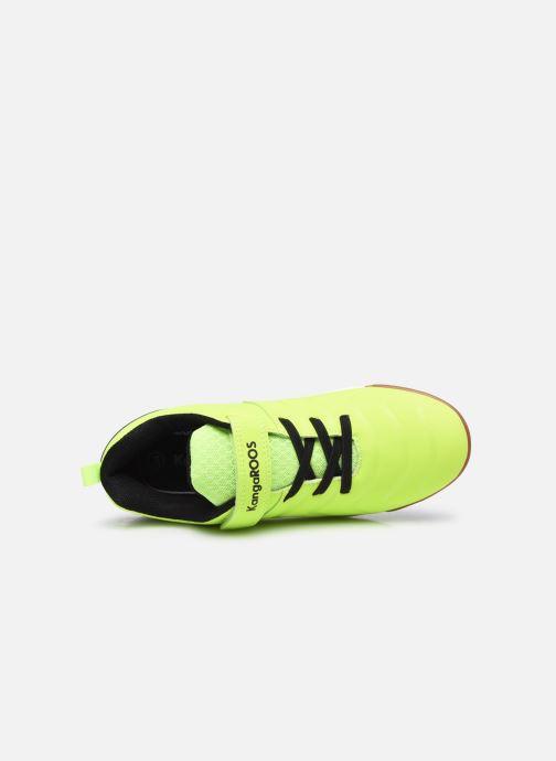 Sneaker Kangaroos Speed Comb EV gelb ansicht von links
