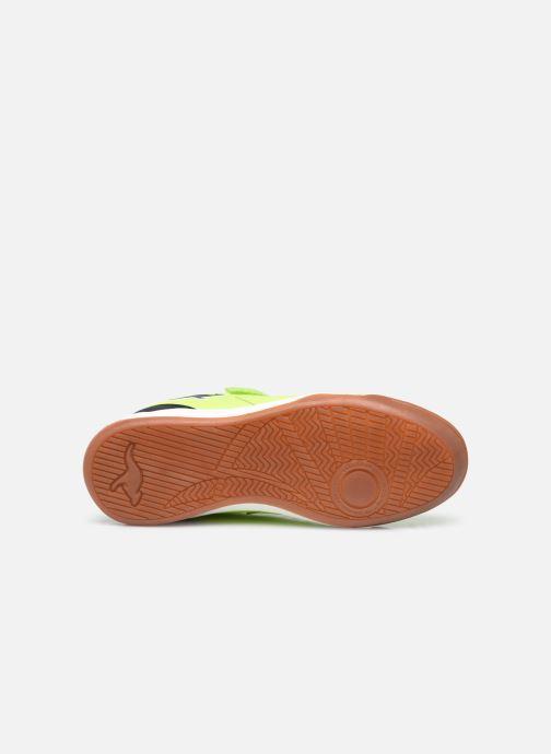 Sneaker Kangaroos Speed Comb EV gelb ansicht von oben