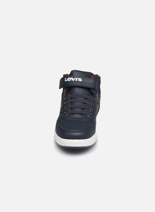 Baskets Levi's Dayton Bleu vue portées chaussures
