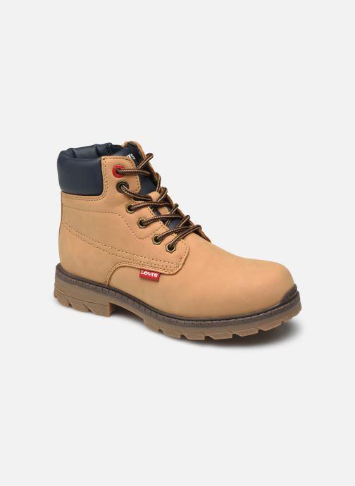 Bottines et boots Levi's New Forrest Marron vue détail/paire