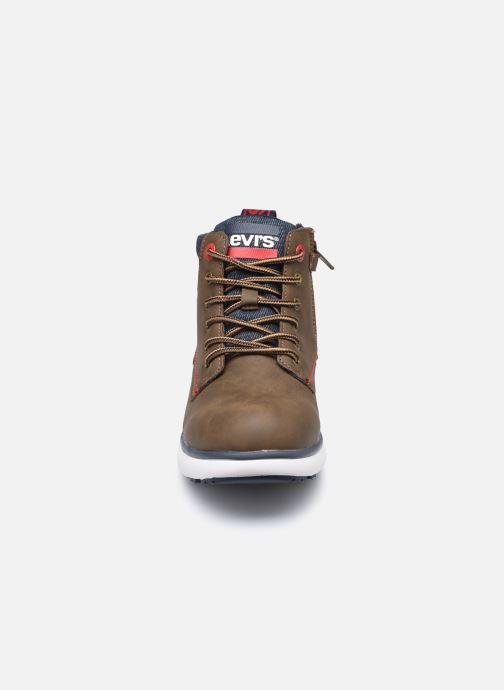Bottines et boots Levi's Vermont Marron vue portées chaussures