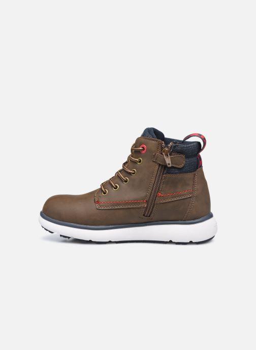Bottines et boots Levi's Vermont Marron vue face