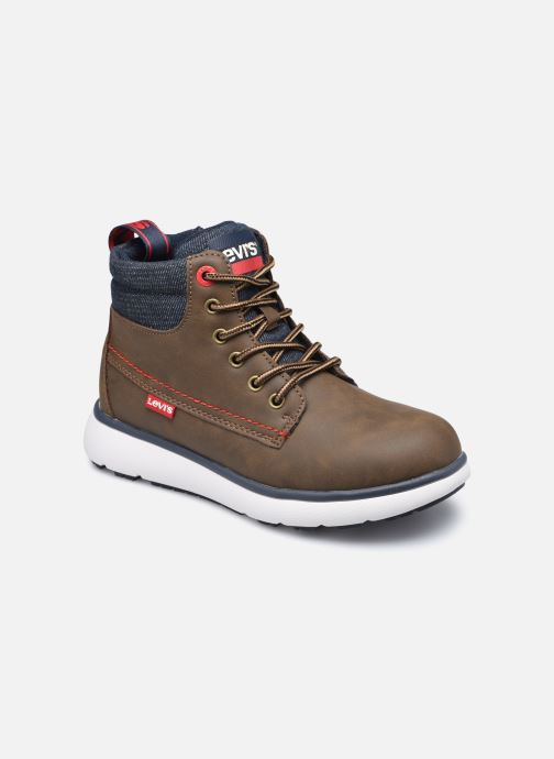Bottines et boots Levi's Vermont Marron vue détail/paire