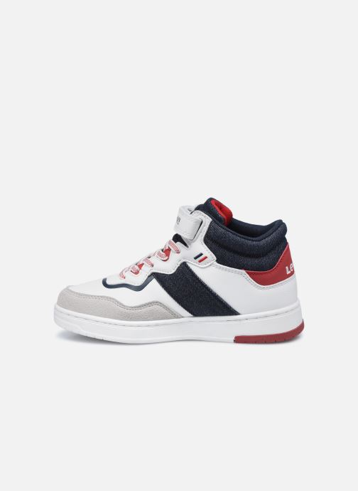 Sneakers Levi's Irving Mid Bianco immagine frontale
