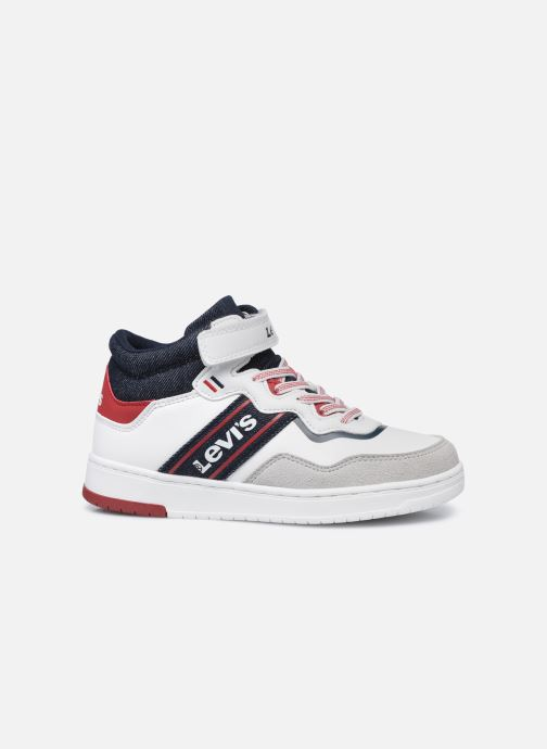 Sneakers Levi's Irving Mid Bianco immagine posteriore